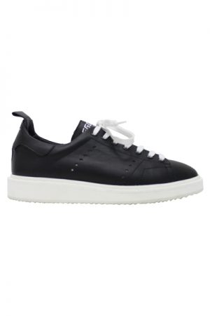 GOLDEN GOOSE DELUXE BRAND ローカットスニーカー[SNEAKERS STARTER / BLACK/WHITE SOLE] (LADIE'S)