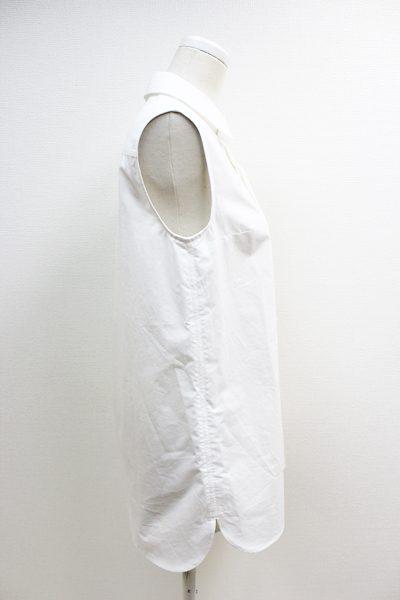 Acne Studios 【40%OFF】コットンノースリーブロングシャツ