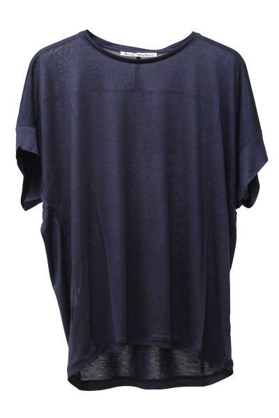 ACNE テンセルワイド半袖カットソー