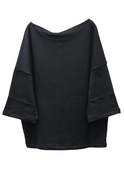 ACNE 【40%OFF】フロント刺繍ワイド7分袖トップス