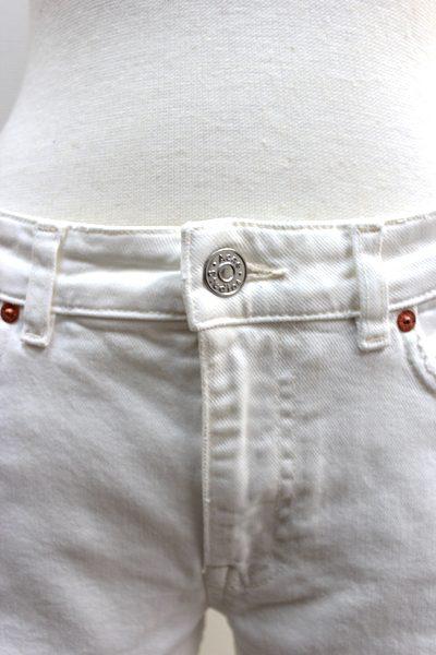 ACNE ホワイトボーイフレンドデニム (Row / White Vintage)