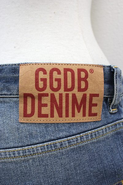 GOLDEN GOOSE DELUXE BRAND ダメージ加工デニムスリムパンツ