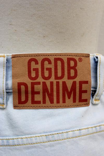 GOLDEN GOOSE DELUXE BRAND ハイブリーチハイウエストデニム(KIM)