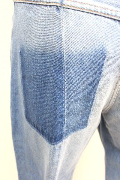 ISABEL MARANT ETOILE 【40%OFF】ウォッシュデニムセンター切替パンツ