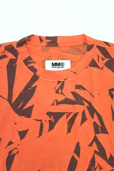 MM6 MAISON MARGIELA 【30%OFF】総柄しわ加工BIG Tシャツ