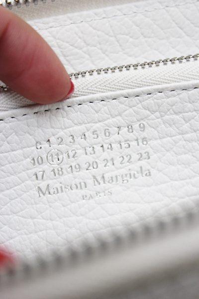 MAISON MARGIELA エンボスレザー長財布