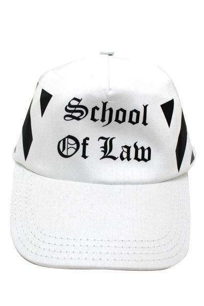 OFF-WHITE 【30%OFF】SCHOOL OF LAWキャップ