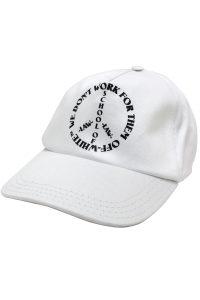 OFF-WHITE ピースロゴキャップ