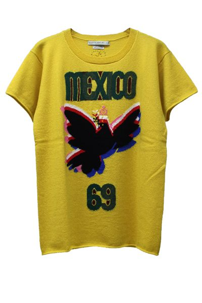 QUEENE and BELLE 【40%OFF】Mexico半袖ニット