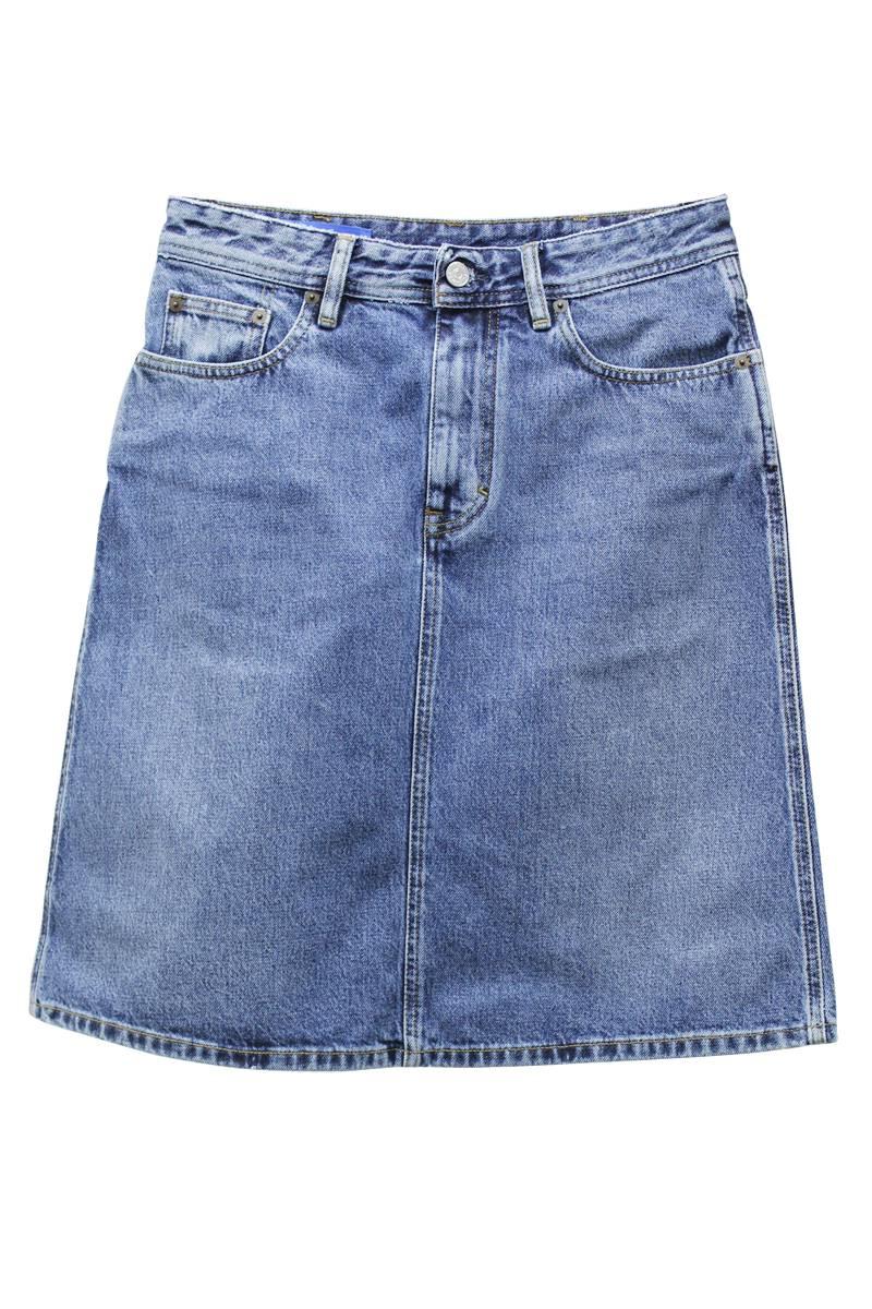 Acne Studios 【30%OFF】デニムひざ丈スカート