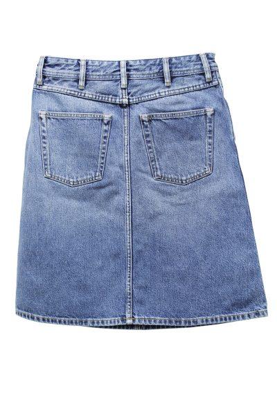 ACNE デニムひざ丈スカート