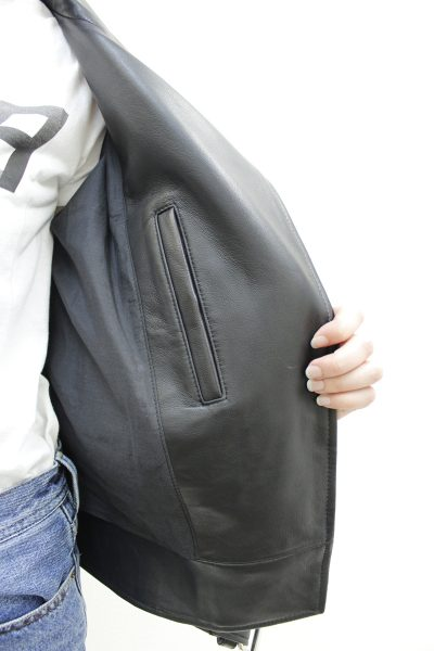 ACNE ラムレザーライダースジャケット