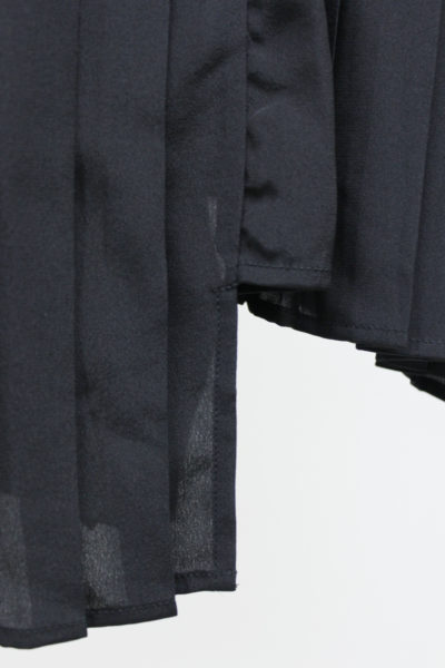ISABEL MARANT シルクアシンメトリープリーツスカート