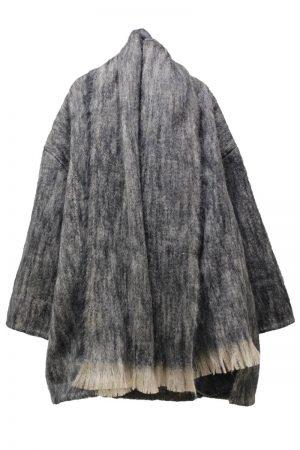 BLESS 【50%OFF】ウールモヘアショールカラーBIGジャケット