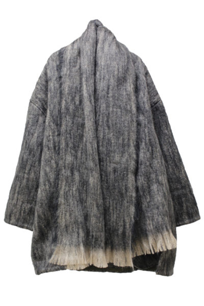 BLESS 【40%OFF】ウールモヘアショールカラーBIGジャケット
