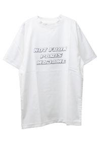 DRÔLE DE MONSIEUR NFPMスローガンTシャツ [17AW]