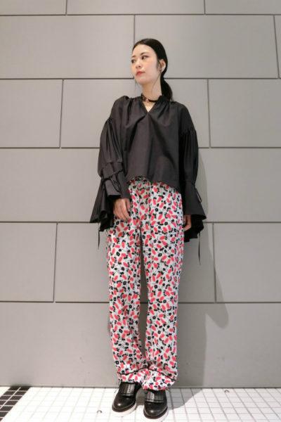 MARNI 【40%OFF】レーヨン花柄イージーパンツ