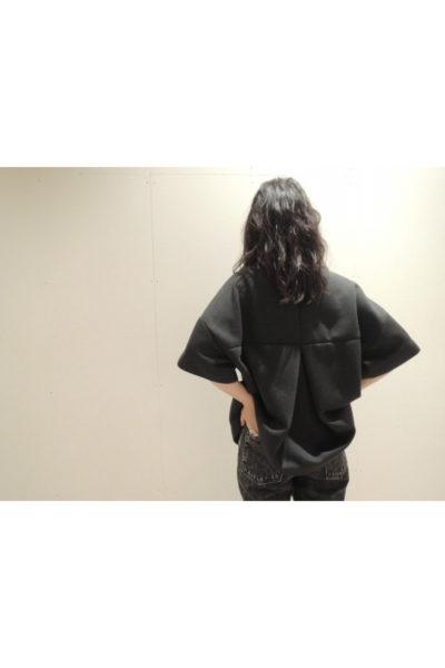 MM6 MAISON MARGIELA 【40%OFF】ポンチボックスタック5分袖トップス