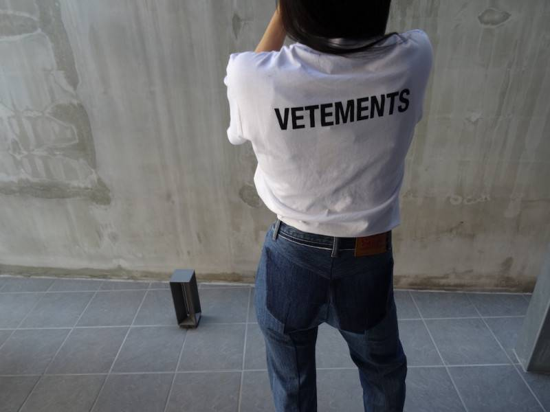 VETEMENTS '17-'18A/W NEW IN!!