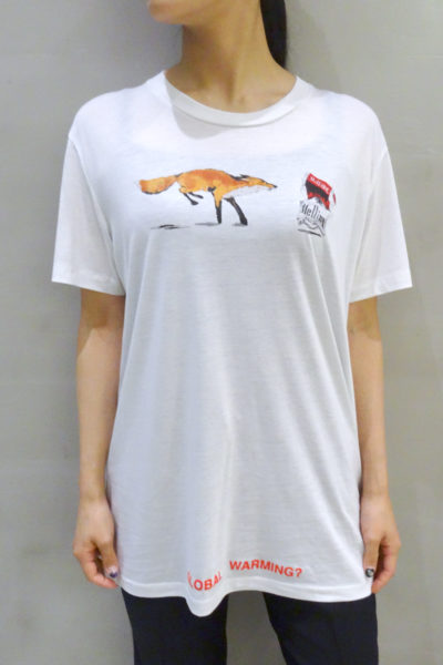 OFF-WHITE 【50%OFF】FOX×CIGARETTES Tシャツ
