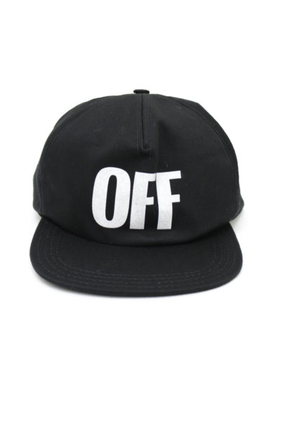 OFF-WHITE BIG OFF キャップ [17AW]