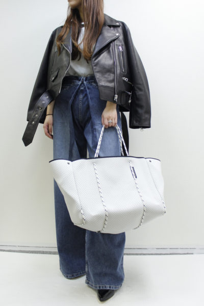 STATE OF ESCAPE パンチングビッグトートバッグ [17AW]