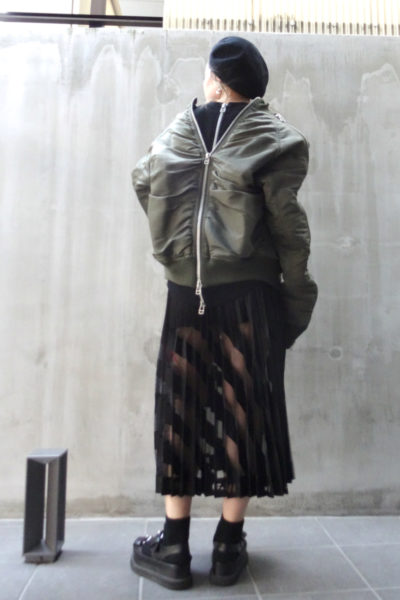 JOHN LAWRENCE SULLIVAN 【POINT×10】4ZIPボンバージャケット [17AW]