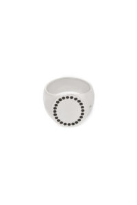 TOM WOOD Circle Ring Spinel [17AW]