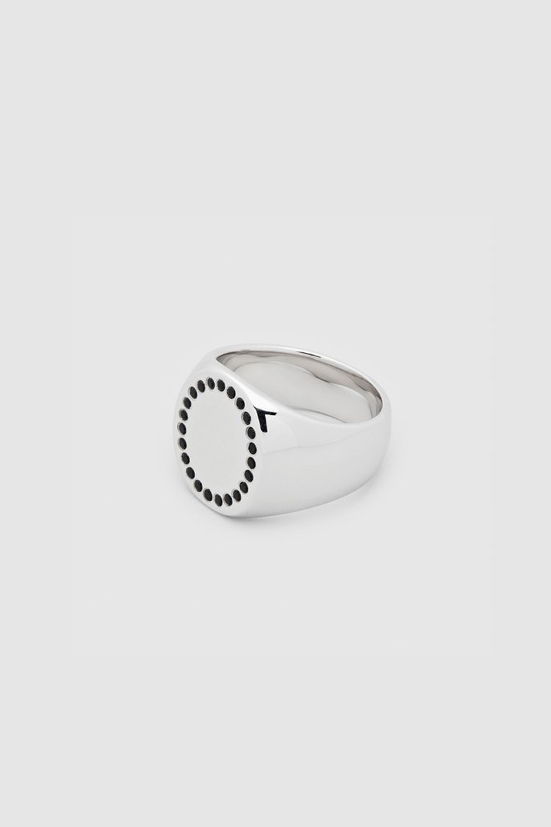 TOM WOOD Circle Ring Spinel