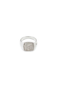 TOM WOOD Mini Cushion White Topaz