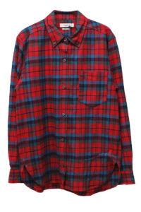 ISABEL MARANT ETOILE 【50%OFF】ネルチェックボタンダウンシャツ [17AW]