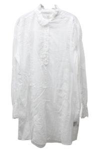 ISABEL MARANT ETOILE 【50%OFF】刺繍フリルネックミニワンピース [17AW]