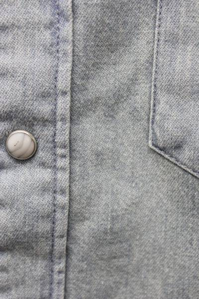 MAISON KITSUNÉ デニムウエスタンシャツ [17AW]