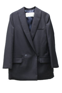 MAISON KITSUNÉ 【40%OFF】ウールショールカラー8分袖ジャケット