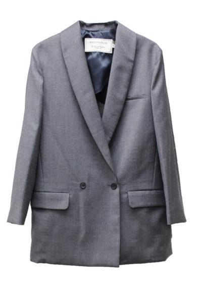 MAISON KITSUNÉ ウールショールカラー8分袖ジャケット [17AW]