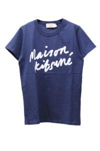 MAISON KITSUNÉ ペイントロゴTシャツ [17AW]