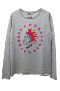 QUEENE and BELLE スターインディアンニット [17AW]