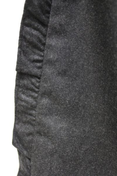 QUEENE and BELLE フランネルサイドフリルスカート [17AW]