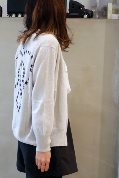 QUEENE and BELLE スターカルマカーディガン [17AW]