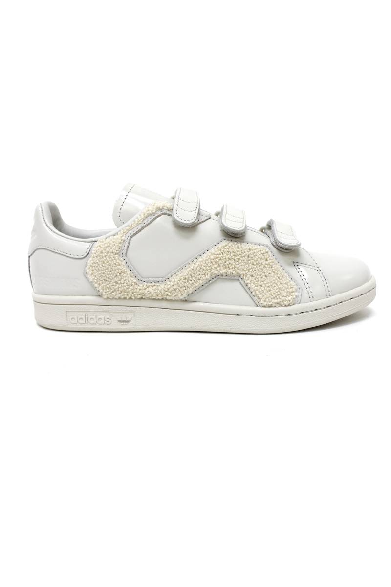 【30%OFF】レザーベルクロスニーカー(STAN SMITH COMFORT BADGE)(IVORY) [17AW]