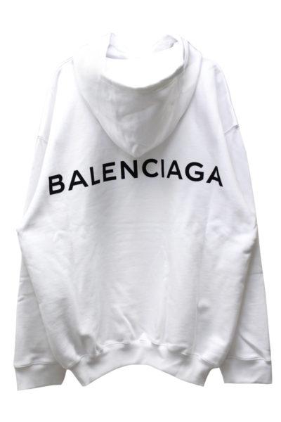 BALENCIAGA バックロゴビッグフーディー  [17AW]