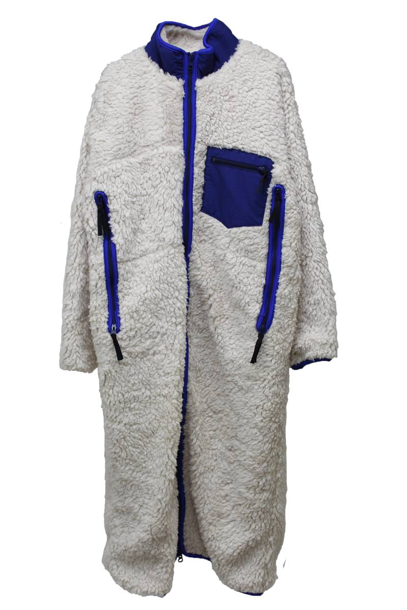 【POINT×10】ボアZIP UP ロングコート【17AW】