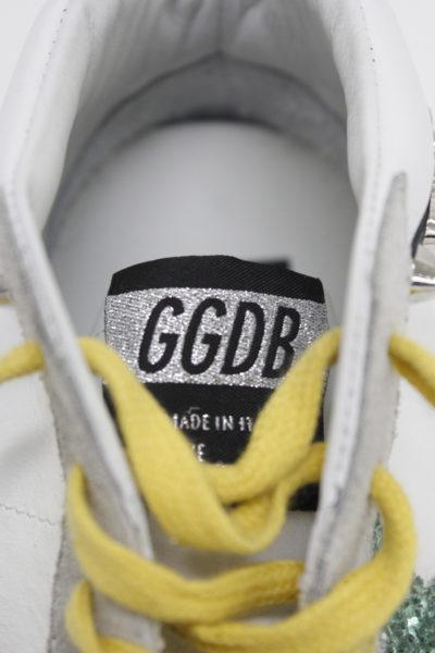 GOLDEN GOOSE DELUXE BRAND 【SALE対象外】スタッズ×グリッターミドルカットスニーカー [SNEAKERS MIDSTAR](LADIE'S) [17AW]
