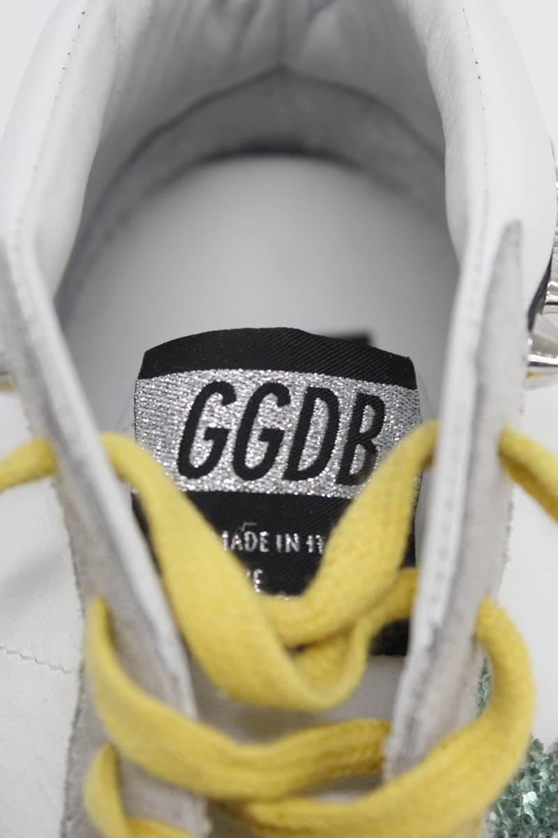 GOLDEN GOOSE DELUXE BRAND スタッズ×グリッターミドルカットスニーカー [SNEAKERS MIDSTAR](LADIE'S)