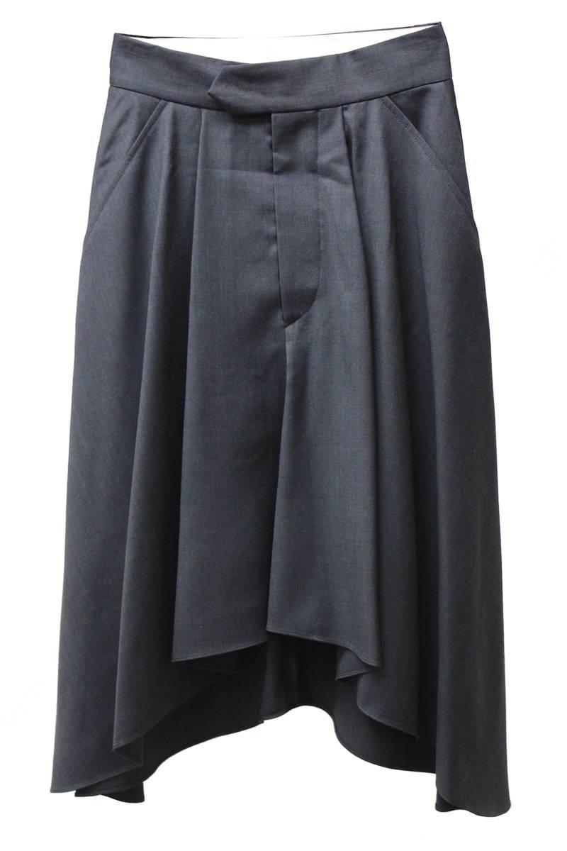 ISABEL MARANT ラウンド裾タックフレアースカート