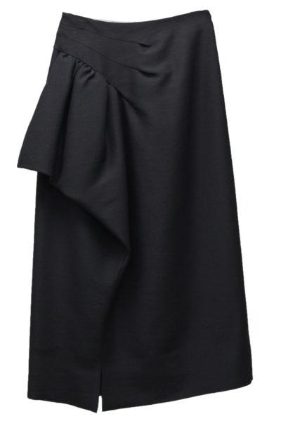 MAISON MARGIELA 【40%OFF】アシンメトリーフリルロングスカート
