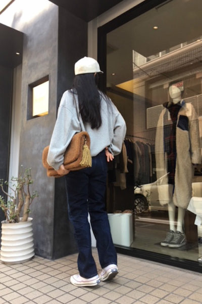 GOLDEN GOOSE DELUXE BRAND 【POINT×10】ボアクラッチバッグ [17AW]