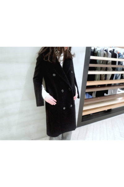 GOLDEN GOOSE DELUXE BRAND 【50%OFF】ウールダブルロングコート [17AW]