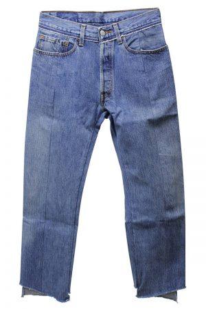VETEMENTS 【40%0FF】リワークドプッシュアップジーンズ