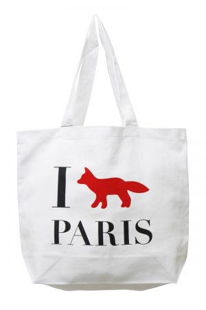 MAISON KITSUNÉ 【40%OFF】I FOX PARISトートバッグ